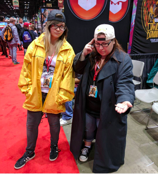 C2E2 2017 Cosplay - Jay and Silent Bob 1