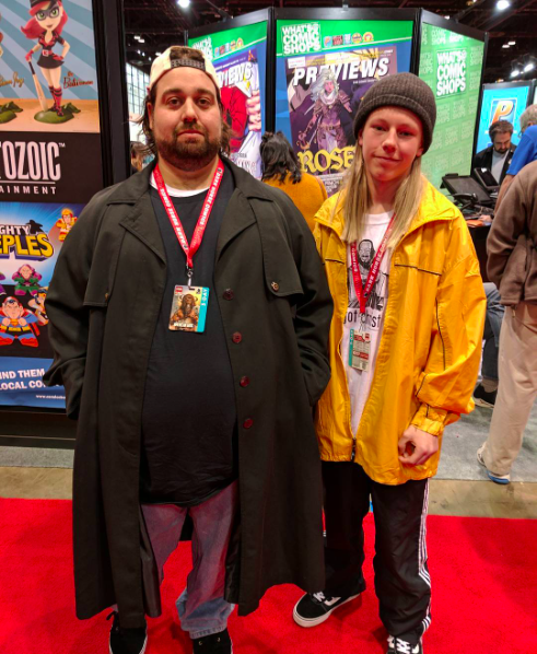 C2E2 2017 Cosplay - Jay and Silent Bob 2