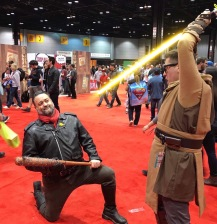 C2E2 2017 Cosplay - Jedi | Negan