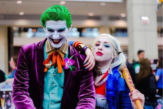 C2E2 2017 Cosplay - Joker | Harley Quinn 3
