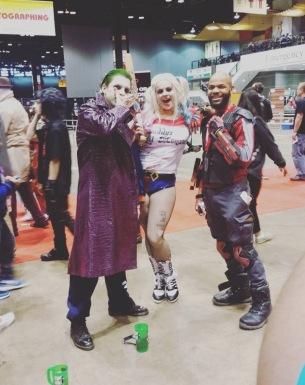 C2E2 2017 Cosplay - Joker | Harley Quinn | Deadshot