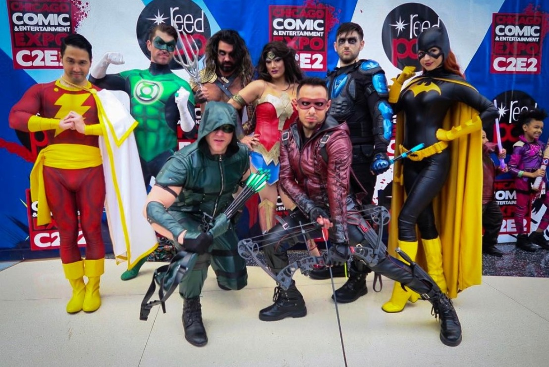 C2E2 2017 Cosplay - Justice League 2