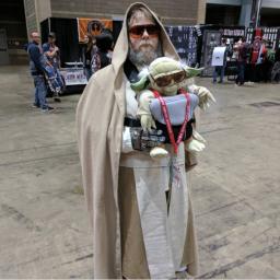 C2E2 2017 Cosplay - Luke Skywalker