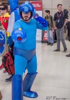 C2E2 2017 Cosplay - Mega Man