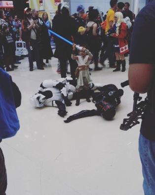 C2E2 2017 Cosplay - Rey Killing It!