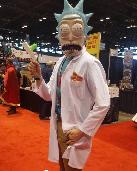 C2E2 2017 Cosplay - Rick (and Morty)
