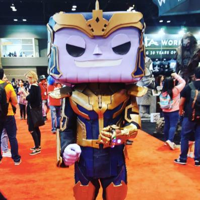 C2E2 2017 Cosplay - Thanos