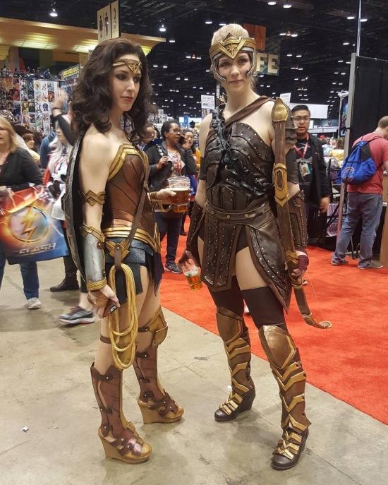 C2E2 2017 Cosplay - Wonder Woman 2