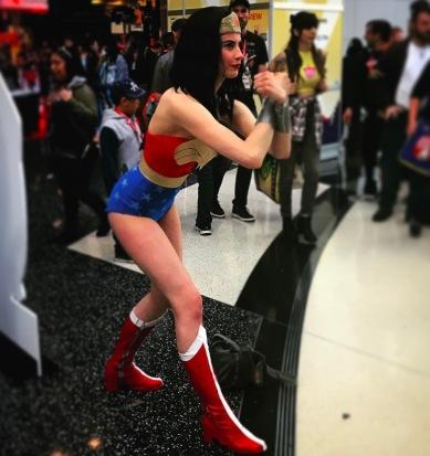 C2E2 2017 Cosplay - Wonder Woman 3