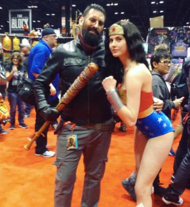 C2E2 2017 Cosplay - Wonder Woman | Negan