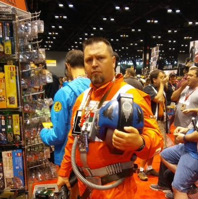 C2E2 2017 Cosplay - X-Wing Pilot