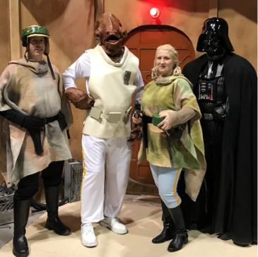 CalgaryExpo 2017 Cosplay - Admiral Ackbar   Darth Vader