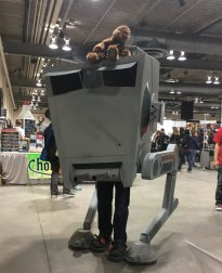 CalgaryExpo 2017 Cosplay - AT-ST Walker