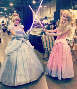 CalgaryExpo 2017 Cosplay - Aurora   Cinderella (Jedi)