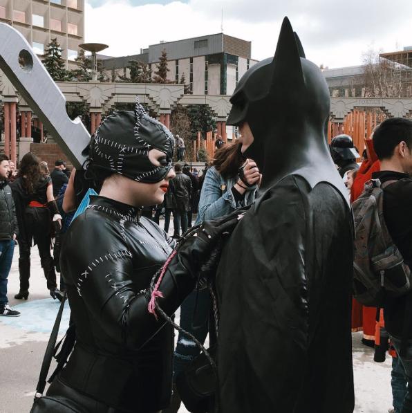 CalgaryExpo 2017 Cosplay - Batman   Catwoman 2