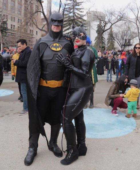 CalgaryExpo 2017 Cosplay - Batman   Catwoman