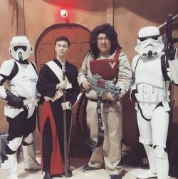 CalgaryExpo 2017 Cosplay - Baze   Chiruut   Storm Troopers