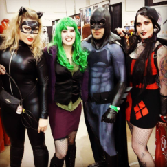 CalgaryExpo 2017 Cosplay - Catwoman   Joker   Batman   Harley Quinn