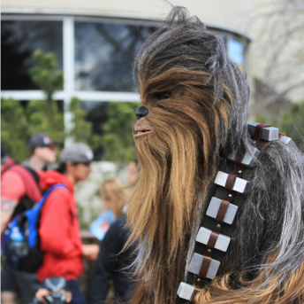 CalgaryExpo 2017 Cosplay - Chewbacca