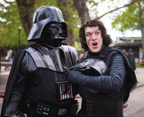 CalgaryExpo 2017 Cosplay - Darth Vader   Kylo Ren