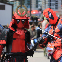 CalgaryExpo 2017 Cosplay - Deadpool   Deadpool (Samurai Mashup)