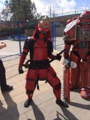 CalgaryExpo 2017 Cosplay - Deadpool (Samurai)