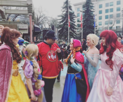 CalgaryExpo 2017 Cosplay - Disney Princesses