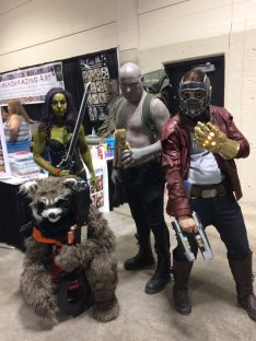 CalgaryExpo 2017 Cosplay - Guardians of the Galaxy