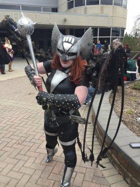 CalgaryExpo 2017 Cosplay - Hawkgirl