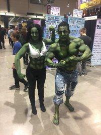 CalgaryExpo 2017 Cosplay - Hulk   She-Hulk