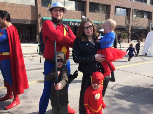 CalgaryExpo 2017 Cosplay - Jay Garrick | Green Arrow | Flash | Supergirl