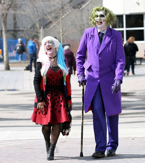 CalgaryExpo 2017 Cosplay - Joker   Harley Quinn 3