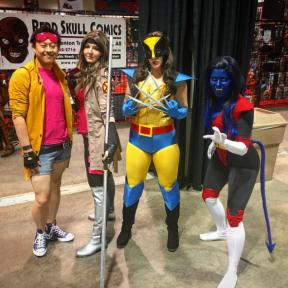 CalgaryExpo 2017 Cosplay - Jubilaa   Gambit   Wolverine   Nightcrawler