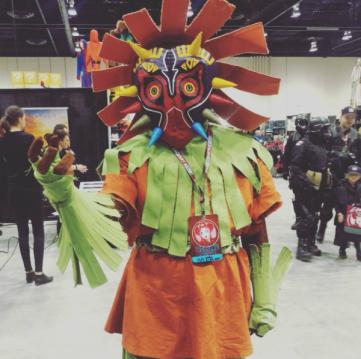 CalgaryExpo 2017 Cosplay - Majoras Mask