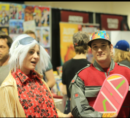 CalgaryExpo 2017 Cosplay - Marty McFly | Doc Brown 2