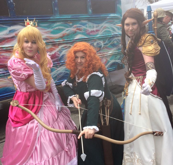 CalgaryExpo 2017 Cosplay - Princess Peach | Merida | Princess Zelda