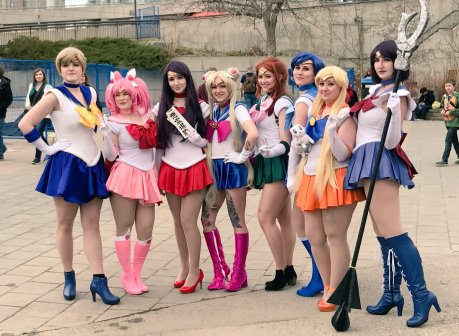CalgaryExpo 2017 Cosplay - Sailor Moon 1