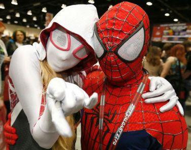 CalgaryExpo 2017 Cosplay - Spider-Man   Spider-Gwen 2