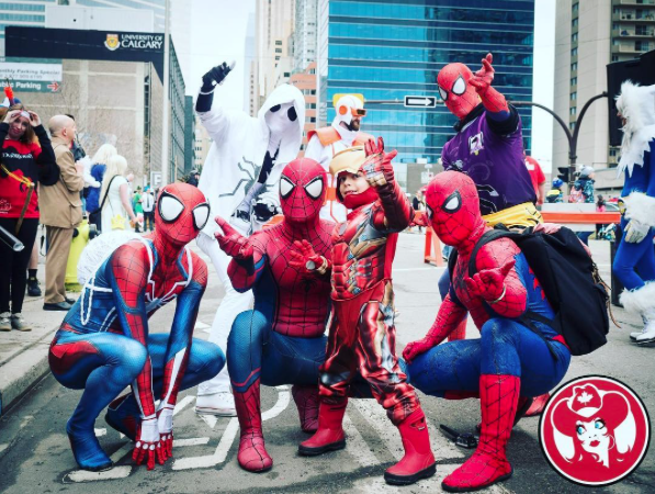 CalgaryExpo 2017 Cosplay - Spider-Men 2