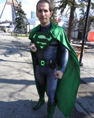 CalgaryExpo 2017 Cosplay - Superman (Green Lantern Mashup)