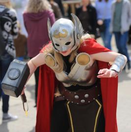 CalgaryExpo 2017 Cosplay - Thor Godess of Thunder