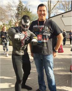 CalgaryExpo 2017 Cosplay - Venom