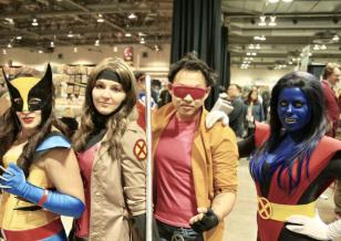 CalgaryExpo 2017 Cosplay - X-Men 2