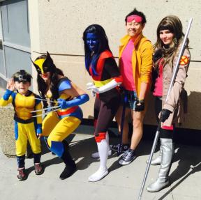 CalgaryExpo 2017 Cosplay - X-Men