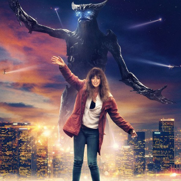 Colossal (2017) Russian Poster