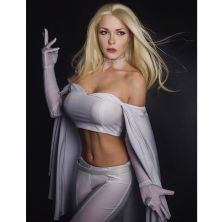 Emma Frost by Captain Irachka