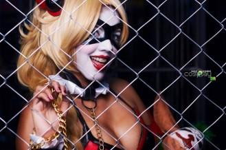Harley Quinn Leia Cosplay 11