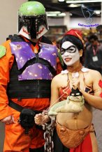 Harley Quinn Leia Cosplay 12