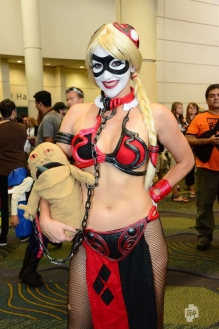 Harley Quinn Leia Cosplay 2