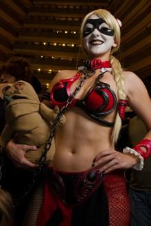 Harley Quinn Leia Cosplay 3
